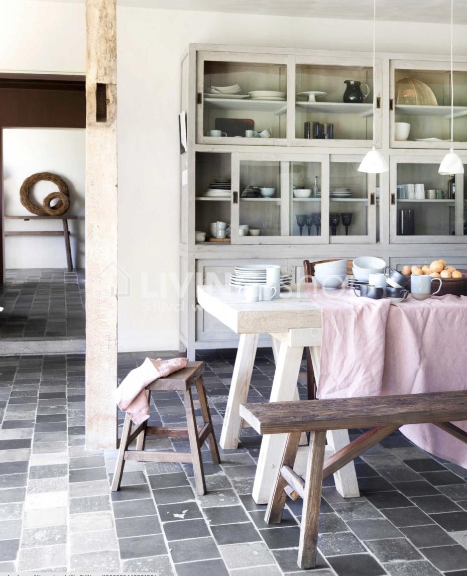 houten zitbank j line online kopen in j line wonen landelijke stijl living shop webshop. Black Bedroom Furniture Sets. Home Design Ideas