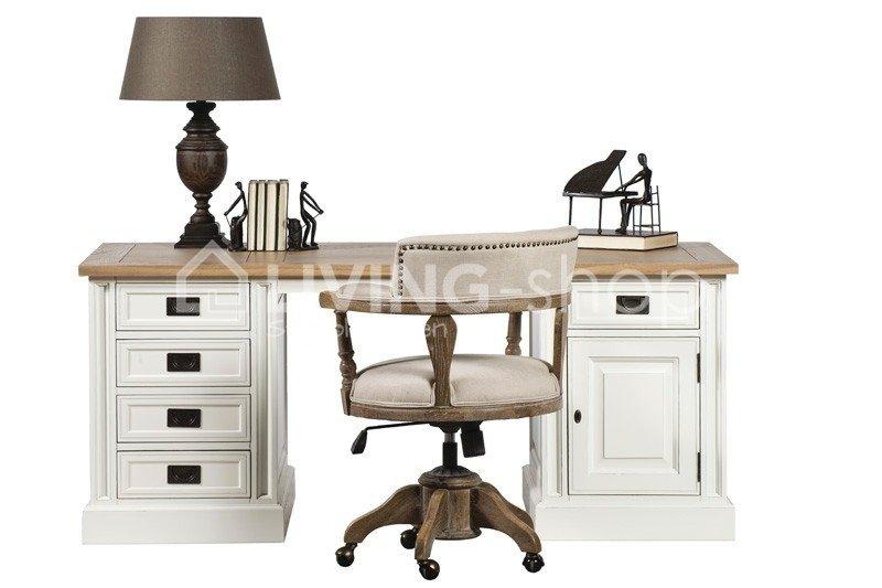 eiken-bureaustoel-landelijke-stijl